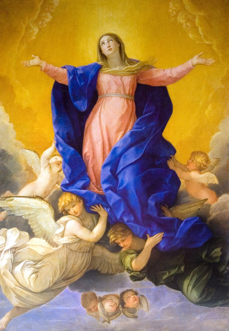 Guido Reni assumption of the Virgin