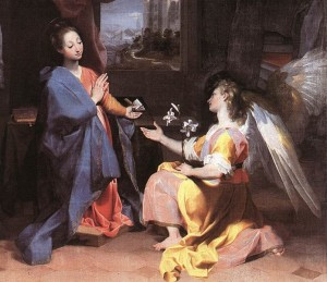 Barocci - Our Lady and the Angel Gabriel