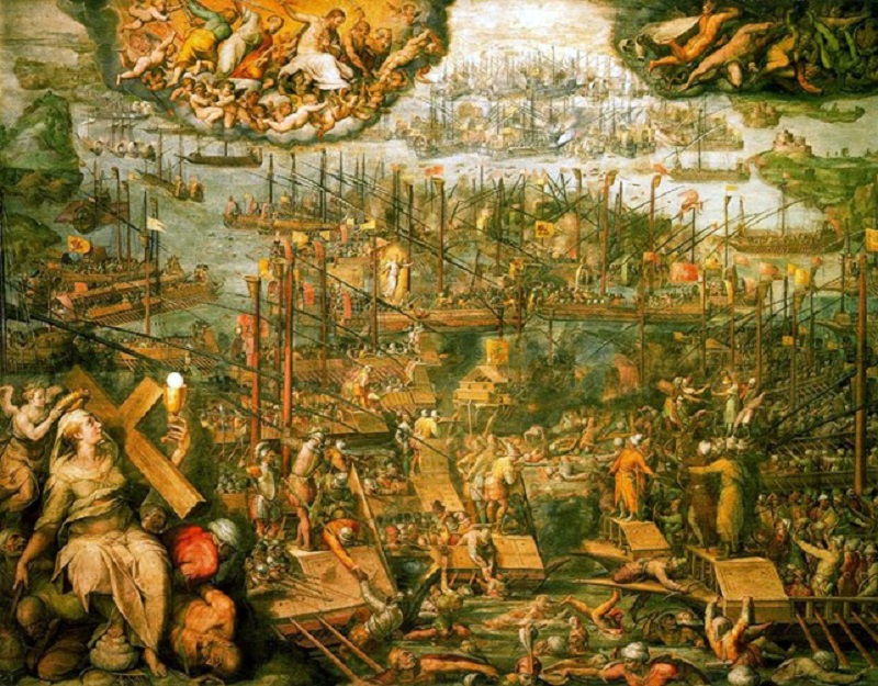 Battle of Lepanto 2 Vasari (2)