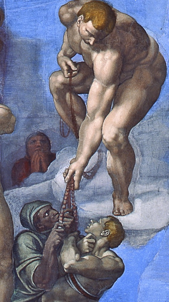 The Last Judgement - the Rosary detail 1