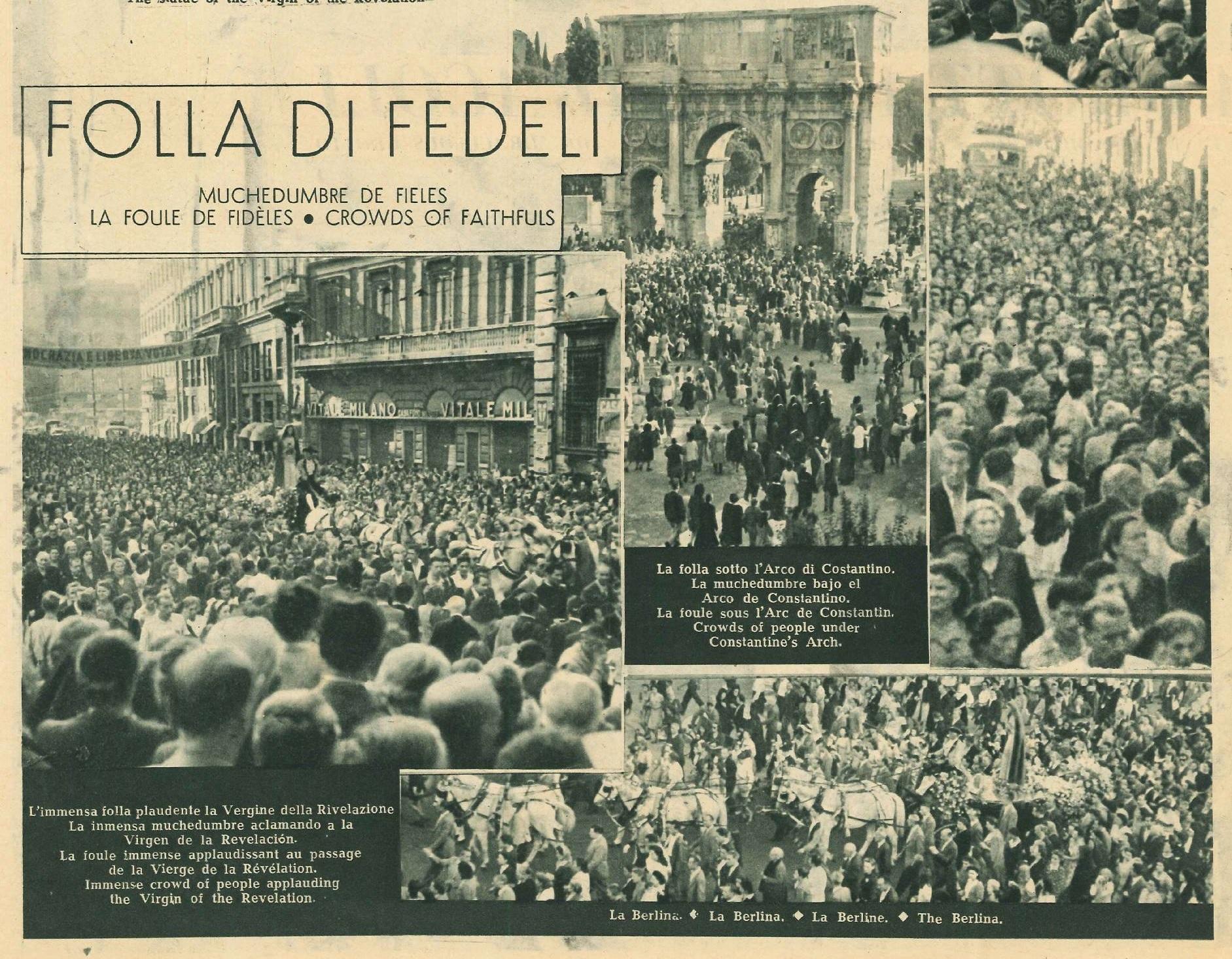 Folla di Fedeli 1947