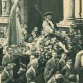 Vergine della Rivelazione in processione 1947