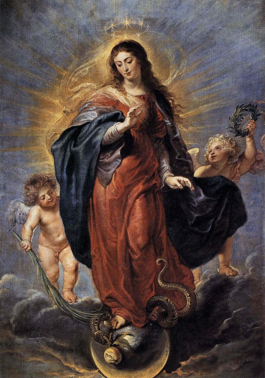 Immaculate Conception Rubens