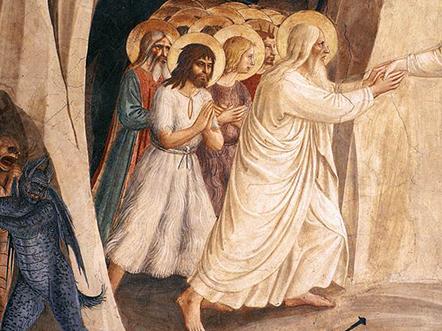 Beato Angelico La Discesa di Cristo al Limbo 1