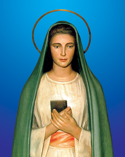Vergine della Rivelazione 2